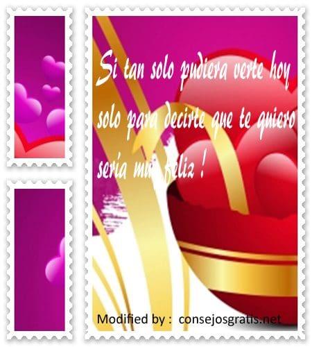 enviar frases de amor para mi enamorada