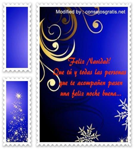 palabras para de felìz Navidad, dedicatorias con imàgenes der felìz Navidad