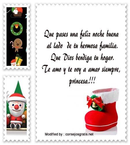 poemas para enviar en Navidad,frases bonitas para enviar en a mi novio,carta para enviar en Navidad