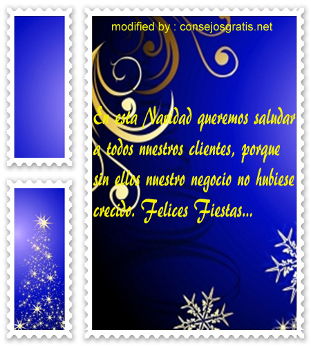 postales de mensajes de Navidad,textos hermosos de Navidad para clientes