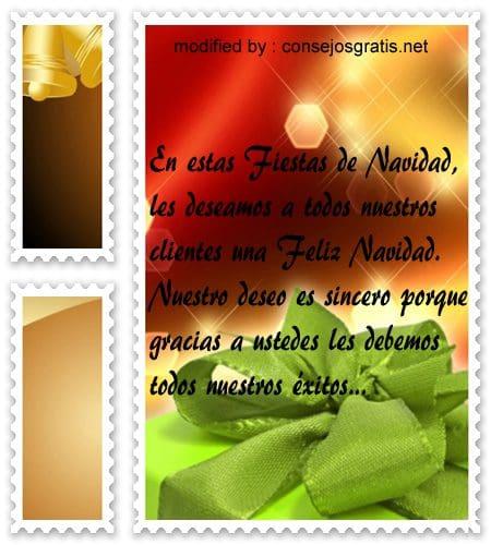 postales de mensajes de Navidad,frases de buenos deseos en Navidad para clientes