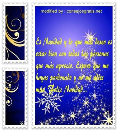 postales de mensajes de frases de feliz navidad para un ex novio