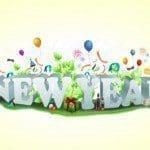 bonitas frases de Año Nuevo para facebook, originales mensajes de Año Nuevo para facebook