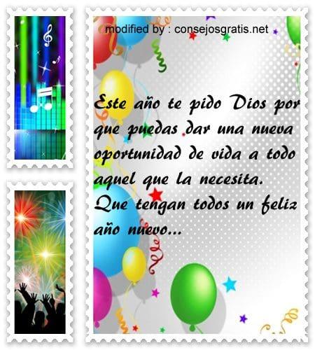 mensajes de Ano Nuevo, bonitas palabras para desear feliz Año Nuevo