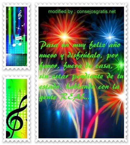 mensajes de Ano Nuevo,textos para saludar en Año Nuevo por facebook