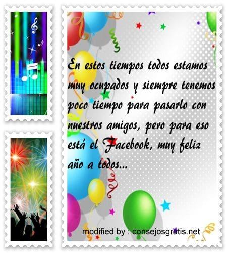 mensajes de Ano Nuevo, lindos saludos de Año Nuevo por facebook
