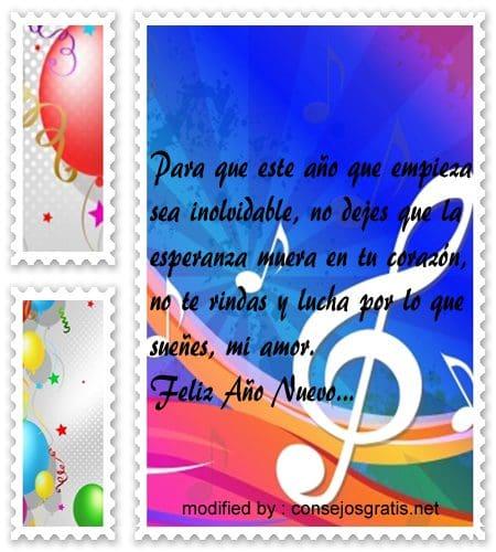 Lindos textos de felicitaciones por a o nuevo para m vil - Frases originales para felicitar el ano nuevo ...