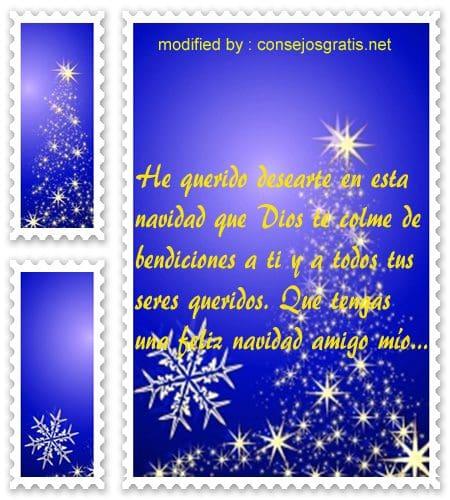 postales de mensajes de Navidad,lindos saludos de Navidad para tu amigo