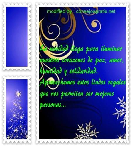 postales de mensajes de Navidad,sms positivos para época de Navidad