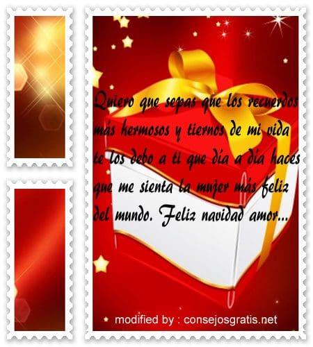 postales de mensajes de Navidad,muy tiernas frases de feliz Navidad para mi pareja