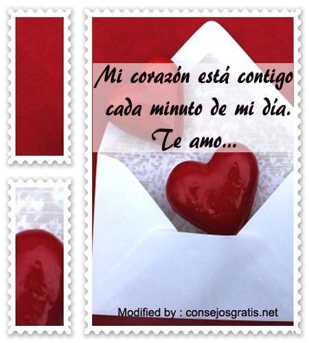 mensajes bonitos de amor para mi pareja,frases y mensajes románticos