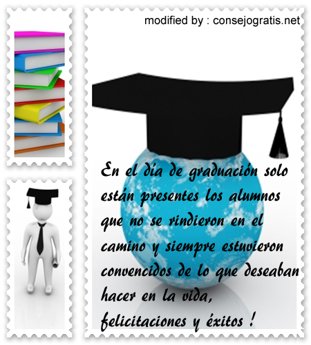 Bonitas felicitaciones por graduación de bachiller con imàgenes