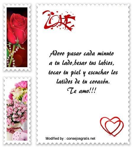 frases románticas para mi novio,mensajes de amor para mi novio