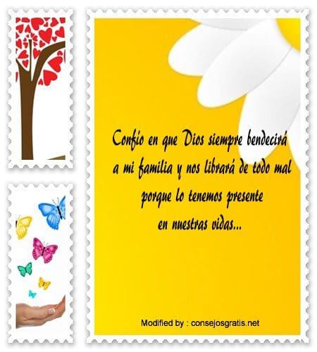 frases de bendiciones cristianas para una familia,enviar mensajes de bendiciones cristianas para un hijo