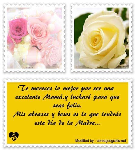 saludos para el dia de la Madre,frases para el dia de la Madre