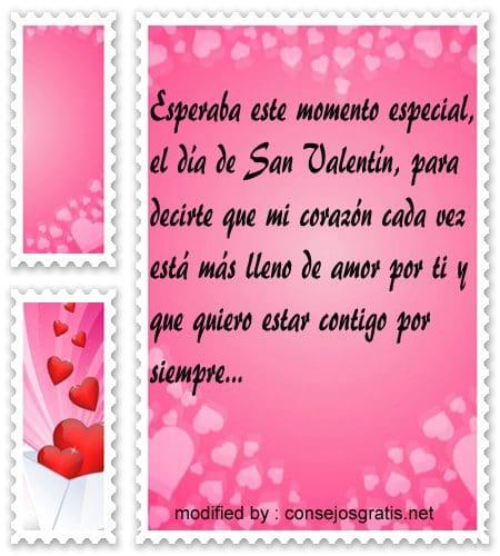 Dedicatorias de amor a mi novio por 14 de febrero con for Que regalar por san valentin