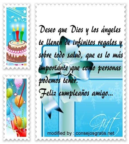 mensajes de cumpleanos70, Bellos mensajes de cumpleaños para tu amigo