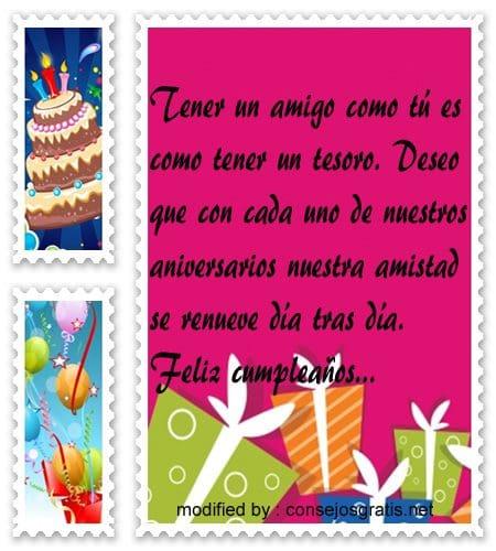 mensajes de cumpleanos78, Bonitas dedicatorias de feliz cumpleaños para tu amiguito