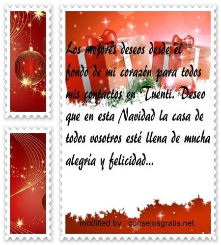 mensajes de navidad7,dedicatorias de feliz navidad para tuenti