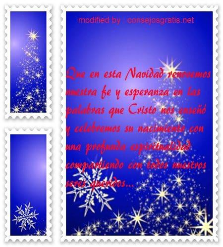 Lindas frases cristianas por navidad con im genes - Felicitar la navidad a una amiga ...
