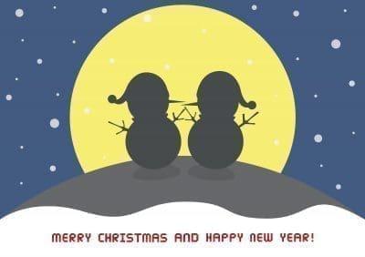 Lindas frases de saludos de Navidad para Messenger con imágenes
