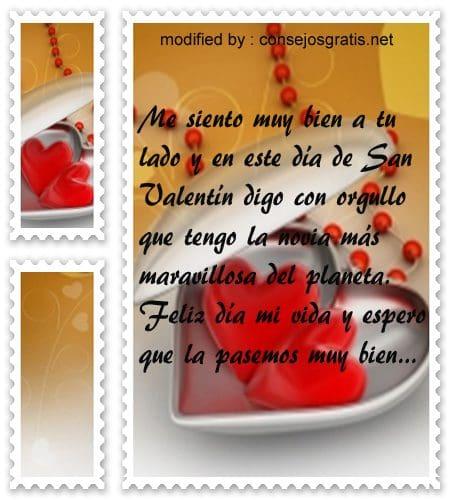 Dedicatorias para San Valentin,textos hermosos para el dia de los enamorados