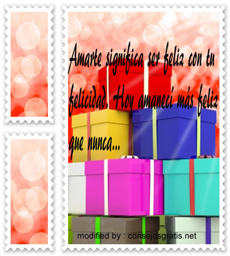 Feliz Cumpleanos24, Textos bellos con saludos de cumpleaños para tu novio