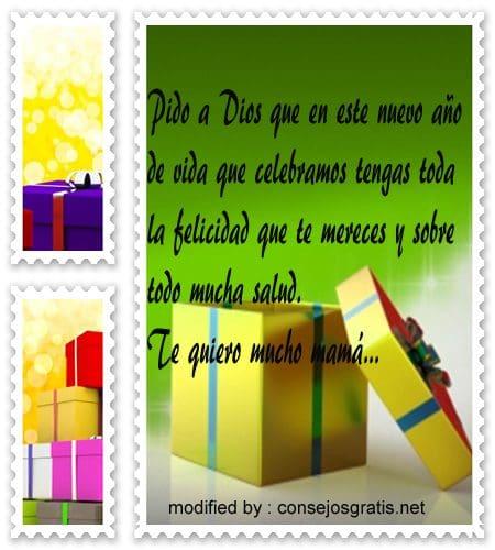 Feliz Cumpleanos53,Nuevos textos para felicitar a tu Madre por su cumpleaños