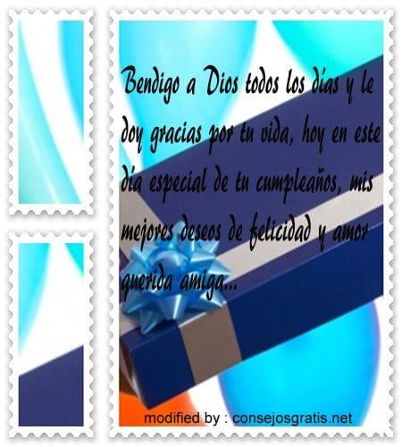 Feliz Cumpleanos96,Textos bellos con saludos de cumpleaños para tu amiga