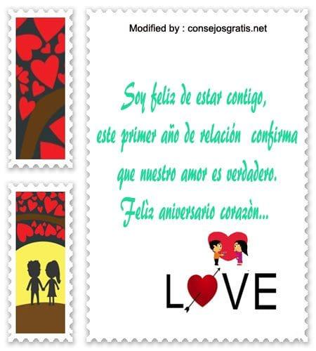 postales con textos de amor para aniversario de novios,versos de aniversario de novios