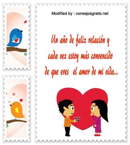 Tarjetas con palabras de amor para aniversario de novios for En 8 dias cumplo anos