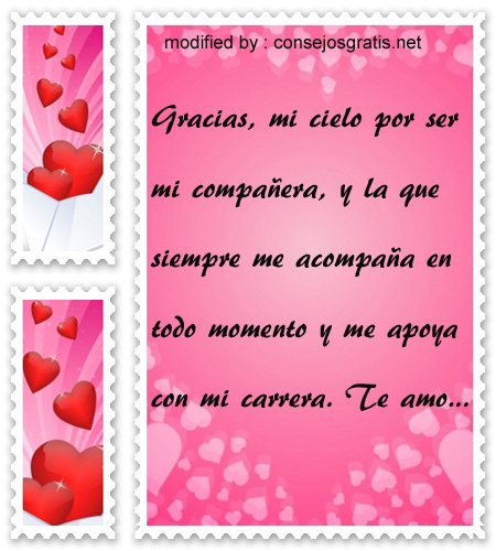 Frases para agradecer a mi amor,textos de agradecimiento para mi amor