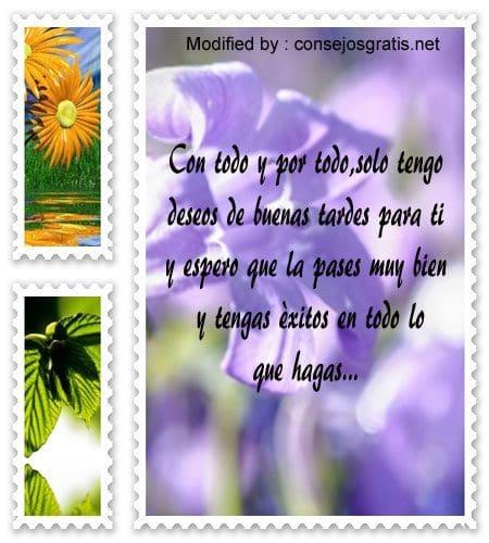 mensajes bonitos de buenas tardes para enviar gratis,descargar frases bonitas de buenas tardes