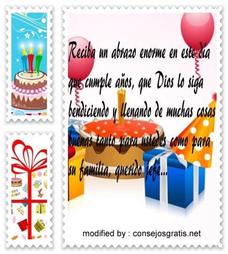 mensajes de cumpleanos103, Lindas frases de cumpleaños para tu jefe