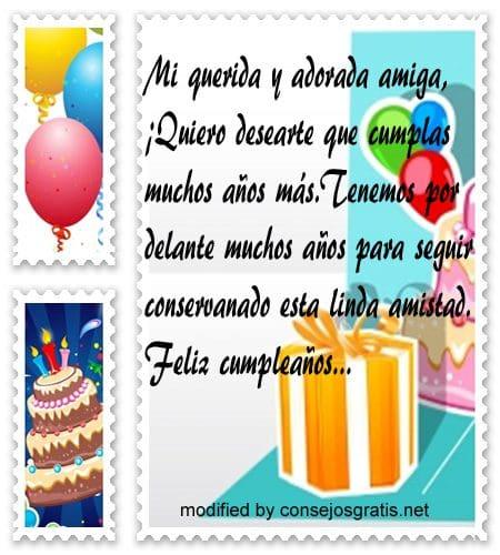 mensajes de cumpleanos18,orginales frases de cumpleaños para tu amiga