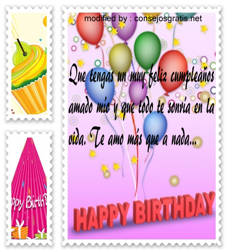 mensajes de cumpleanos40,frases para congratular a tu amor por su cumpleaños