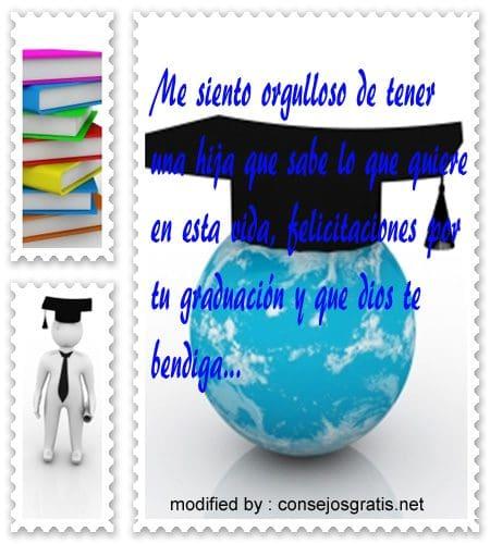 tarjetas de graduacion para felicitar