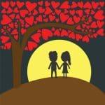 Nuevas frases románticas para noches de luna llena, originales frases románticas para noches de luna llena