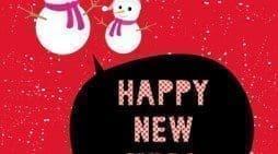 Buscar tarjetas con mensajes bonitos de año nuevo