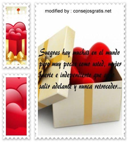 gratis lindas tarjetas de amor para mi suegra por el día de la mujer