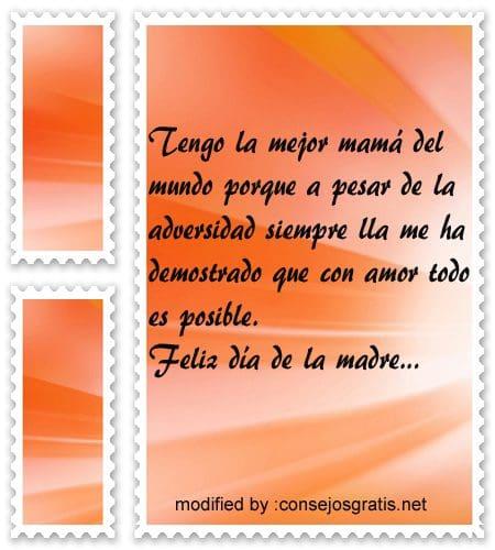 Mensajes para facebook por el dia de la madre,nuevos saludos para el dia de la madre en facebook