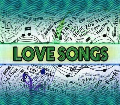 Mensajes de amor inspiradas en versos de canciones