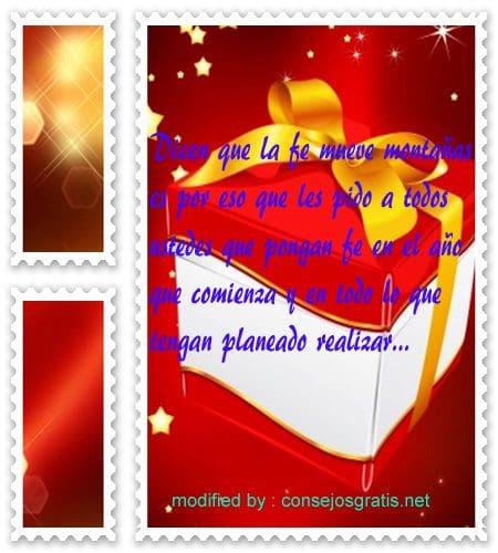 postales de mensajes de Navidad,textos bonitos para desear feliz Año nuevo
