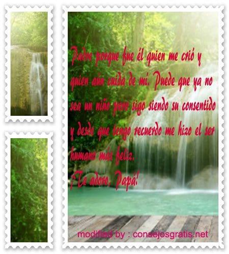 tarjetas con mensajes por el dìa del Padre, saludos con imàgenes por el dìa del Padre