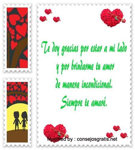 palabras de amor para mi novio,textos bonitos de amor para mi novio