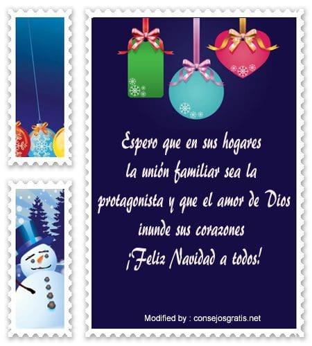 palabras para enviar en Navidad,sms bonitos para enviar en Navidad