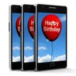 bajar lindas palabras de cumpleaños para un SMS, ejemplos de frases de cumpleaños para un SMS