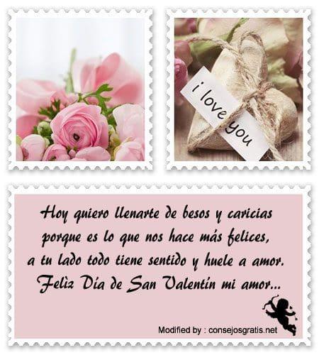 frases y mensajes románticos para San Valentin,mensajes para San Valentin bonitos para enviar