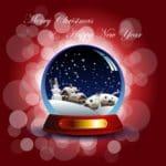 descargar gratis frases de Navidad y Año Nuevo, bonitos mensajes de Navidad y Año Nuevo para compartir