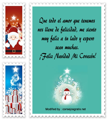 Lindos Mensajes De Navidad Para Mi Amor│Bonitas Frases De Navidad ...